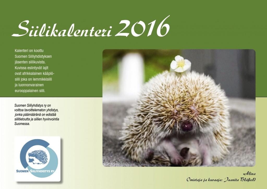 Siilikalenteri 2016