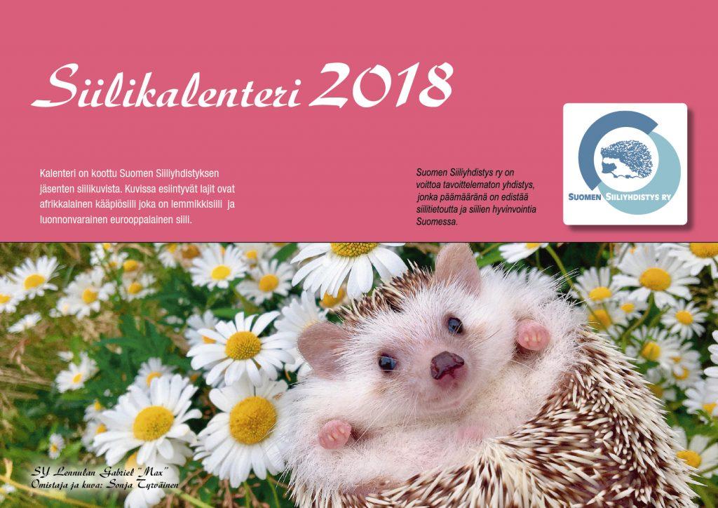 Siilikalenteri 2018